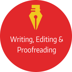 Editing and writing services to offer