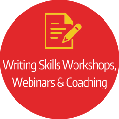 Writing Skills Workshops, Webinars & Coaching